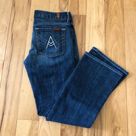 7 For All Mankind Denim - 7 For All Mankind Bootcut Jean Size 28
